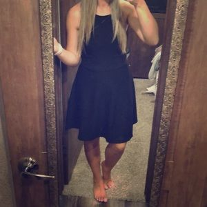 GUC Black high neck dress